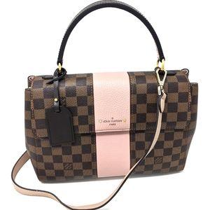 Louis Vuitton Pink Brown Bag Bond Street Satchel